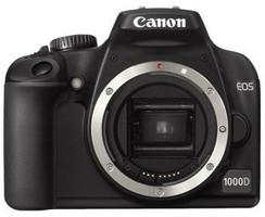 Canon EOS 1000D body noir