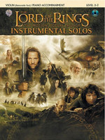 The Lord of the Rings Instrumental Solos for Strings: Violin (with Piano Accompaniment). The Motion Picture Trilogy (incl. CD) [Taschenbuch]