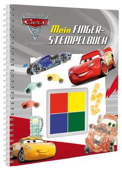 Disney Pixar Cars 3 Mein Fingerstempelbuch. Mit vier tollen Fingerfarben [Gebundene Ausgabe]