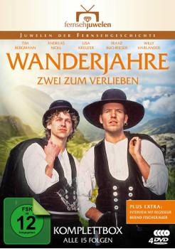 Wanderjahre - Zwei zum Verlieben, Komplettbox [4 DVDs]