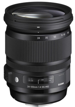 Sigma A 24-105 mm F4.0 DG HSM OS 82 mm filter (geschikt voor Canon EF) zwart