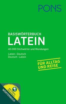 PONS Basiswörterbuch Latein. 40.000 Stichwörter und Wendungen. Latein - Deutsch / Deutsch - Latein [Taschenbuch]
