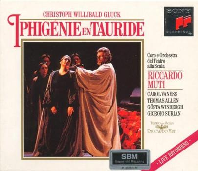 R. Muti - Gluck: Iphigénie en Tauride (Gesamtaufnahme) (franz.) (Aufnahme Mailand 1992)