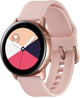 Samsung Galaxy Watch Active 40 mm rosa oro con correa deportiva rosa beige [Wifi]