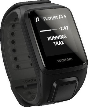 TomTom Runner 2 Cardio + Music Grande nero antracite