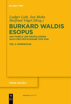 Burkard Waldis: Esopus. 400 Fabeln und Erzählungen nach der Erstausgabe von 1548 [Taschenbuch]