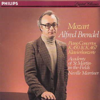 Alfred Brendel, Academy of St. Martin-in-the-Fields - Neville Marriner: Wolfgang Amadeus Mozart - Piano Concertos K. 450 & K. 467