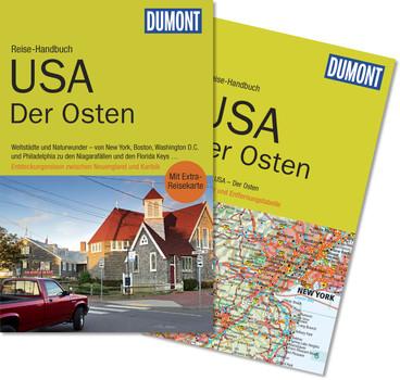 DuMont Reise-Handbuch Reiseführer USA, Der Osten: mit Extra-Reisekarte - Braunger, Manfred