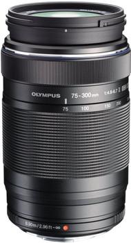 Olympus 75-300 mm F4.8-6.7 ED II 58 mm Objectif (adapté à Micro Four Thirds) noir
