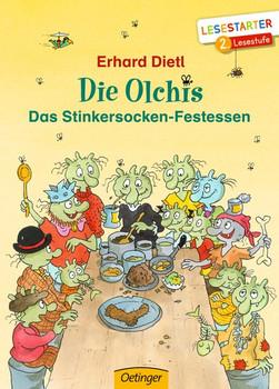 Die Olchis. Das Stinkersocken-Festessen - Erhard Dietl  [Gebundene Ausgabe]