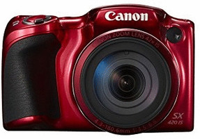 Canon PowerShot SX420 IS rojo