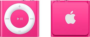 Apple iPod shuffle 4G 2GB roze [2015]