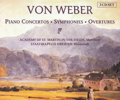 Various - Weber: Piano Concertos, Symphonies, Overtures [3 CDs]