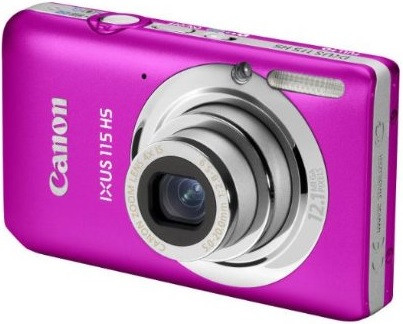 Canon IXUS 115 HS rosa