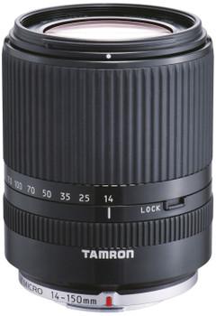 Tamron 14-150 mm F3.5-5.8 Di III 52 mm Obiettivo (compatible con Micro Four Thirds) nero