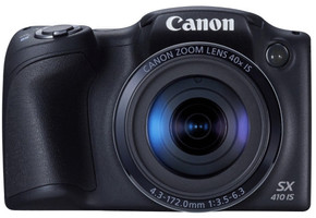 Canon PowerShot SX410 IS zwart