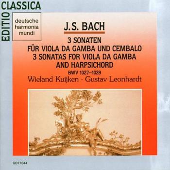G. Leonhardt - Bach: Viola da Gamba Sonaten (3)