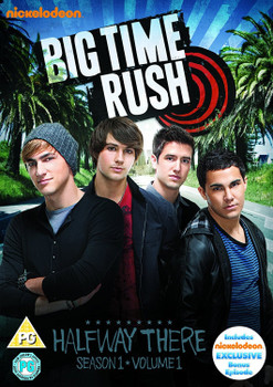 Big Time Rush: Season 1 - Volume 1 - Halfway There [2 DVDs, UK Import]