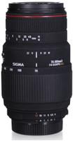 Sigma 70-300 mm F4.0-5.6 APO DG Macro 58 mm Objetivo (Montura Nikon F) negro