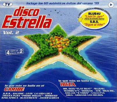 Disco Estrella - Vol. 2 [Import, 4 CDs]