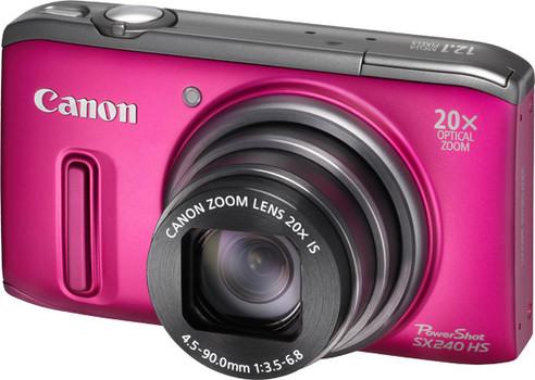 Canon PowerShot SX240 HS roze