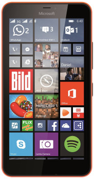 Microsoft Lumia 640 XL Doble SIM 8GB naranja