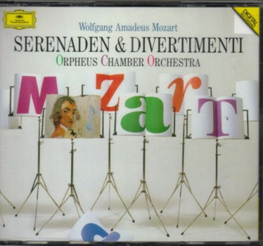 Orpheus Chamber Orch - Mozart:Serenades & Divertimenti