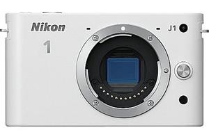 Nikon 1 J1 fotocamera di sistema body bianco
