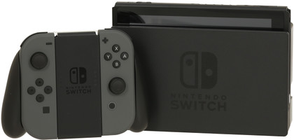 Nintendo Switch 32 Go [nouvelle édition incl. une manette grise] noir