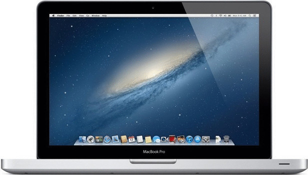 "Apple MacBook Pro 13.3"" (glanzend) 2.5 GHz Intel Core i5 4 GB RAM 500 GB HDD (5400 U/Min.) [Mid 2012, QWERTY-toetsenbord]"