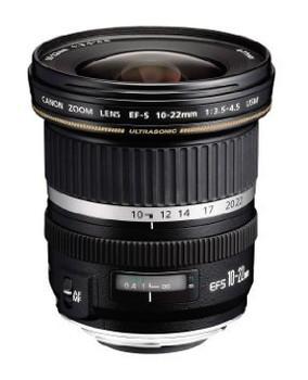 Canon EF-S 10-22 mm F3.5-4.5 USM 77 mm Objetivo (Montura Canon EF-S) negro