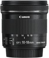Canon EF-S 10-18 mm F4.5-5.6 IS STM 67 mm Objectif (adapté à Canon EF-S) noir
