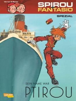 Spirou & Fantasio Spezial 25: Spirou & Fantasio Spezial 25: Sein Name war Ptirou - Laurent Verron  [Taschenbuch]