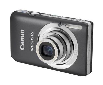 Canon IXUS 115 HS gris