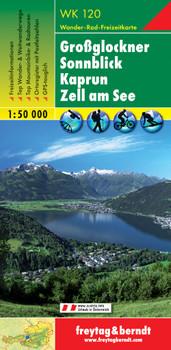 Freytag Berndt Wanderkarten, WK 120, Großglockner - Sonnblick - Kaprun - Zell am See - Maßstab 1:50.000 - Freytag-Berndt und Artaria KG