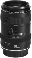 Canon EF 135 mm F2.8 52 mm Objetivo (Montura Canon EF) negro