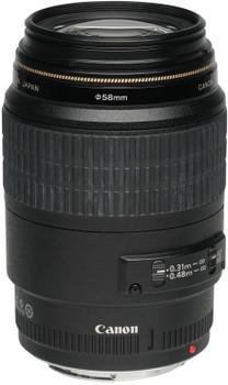 Canon EF 100 mm F2.8 USM Macro 58mm Obiettivo (compatible con Canon EF) nero