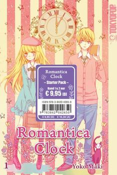 Romantica Clock Starter Pack - Yoko Maki  [Taschenbuch]