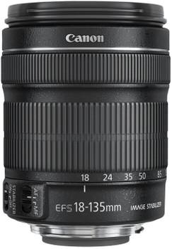 Canon EF-S 18-135 mm F3.5-5.6 IS STM 67 mm Objectif (adapté à Canon EF-S) noir