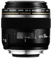 Canon EF-S 60 mm F2.8 USM Macro 52 mm filter (geschikt voor Canon EF-S) zwart