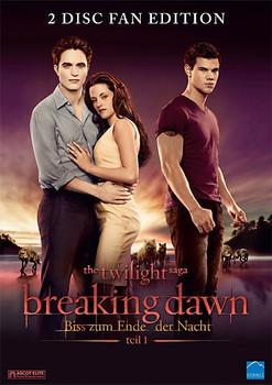 Die Twilight Saga: Breaking Dawn - Biss zum Ende der Nacht - Teil 1 [2 DVDs, Fan Edition, CH Import]