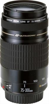 Canon 75-300 mm F4.0-5.6 USM 58 mm Obiettivo (compatible con Canon EF) nero