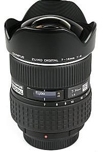 Olympus 7-14 mm F4.0 ED (adapté à Four Thirds) noir