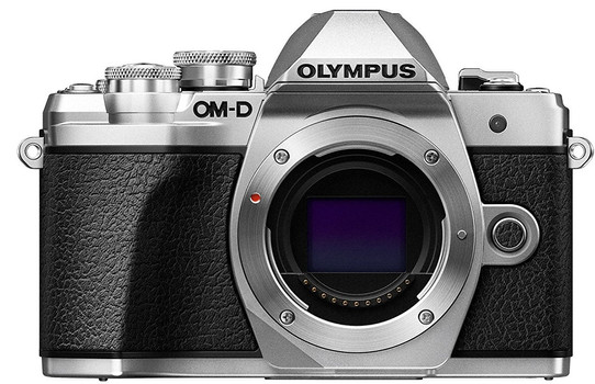 Olympus OM-D E-M10 Mark III body argento