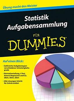 Aufgabensammlung Statistik für Dummies - Wiley-VCH [Taschenbuch]