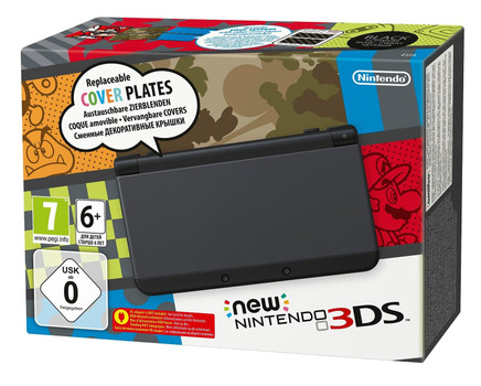 New Nintendo 3DS negro [carcasas intercambiables]