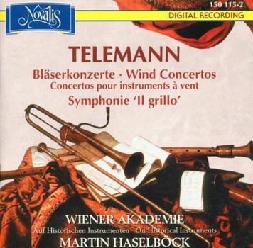 Martin Haselboeck - Bläserkonzerte