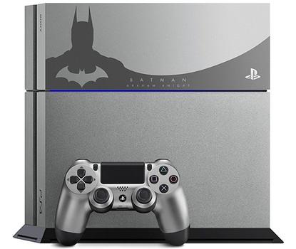 Sony PlayStation 4 500 Go gris metal [Edition limitée Batman Arkham Knight incl. une manette]