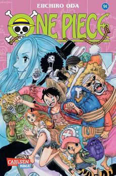 One Piece 91 - Eiichiro Oda  [Taschenbuch]