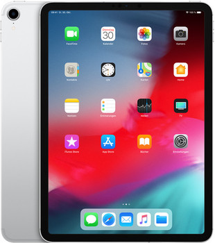 "Apple iPad Pro 11"" 1TB [wifi + cellular, model 2018] zilver"
